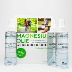 Magnesium olie incl. gratis gebruikersboek
