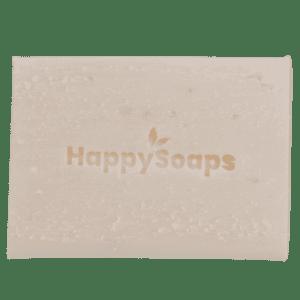 Zeep met kokosnoot, plasticvrij, magnesiumHappySoaps - Limoen & Kokosnoot Body Bar