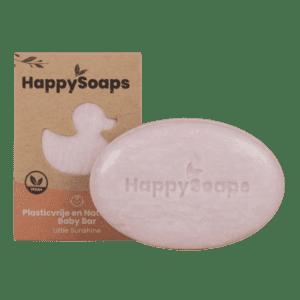 HappySoaps - Baby Shampoo en body wash bar - Little Sunshine