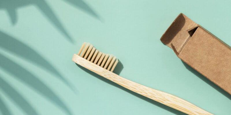 Een plasticvrije badkamer - Bamboo tandenborstel